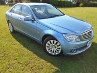 Mercedes-Benz C220 2.1CDI BLUE EFFICIENCY AUTOMATIC LOW MILEAGE!!
