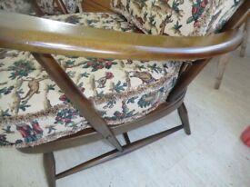 Ercol original vintage cushions. 1950's