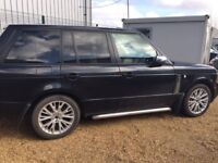 Landrover Range Rover Vogue 4.4 TDi Westminster black with cream leather