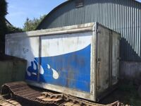 20 foot lorry fridge container