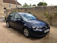 Well maintained 2013 VW Golf with tow bar, good condition
