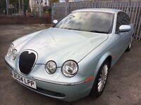 Jaguar S-TYPE V6 SE AUTO LOW MILEAGE FULL SERVICE HISTORY 59000 MILES