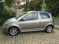 Toyota Yaris VVT-i T-Sport : 104,000miles : Excellent Condition : 2 Owners from new : Cheap to run.