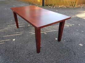 Solid Mahogany Wood Dining Table 180cm FREE DELIVERY 615