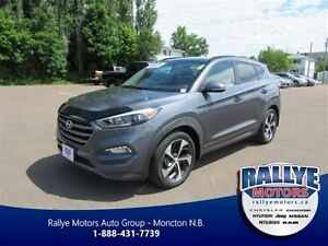 2016 Hyundai Tucson Limited! AWD! Back-up! Heated! Leather! Nav!