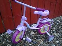 TODDLERS PEPPA PIG FIRST BIKE WITH STABILIZERS