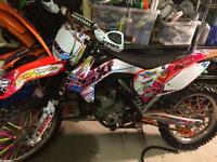 KTM SXF 350 2014 for sale or swap not Yz rm cr kx