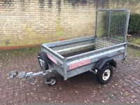 WESSEX TRAILER 5ft x 3ft FULLY GALVANIZED (Quad, Mower, Go Kart)