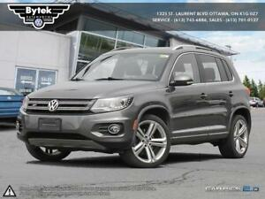 2014 Volkswagen Tiguan Highline 6sp at Tip 4M