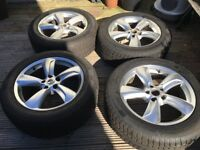 Lexus rx300 alloy wheels with 6 month old winter tyres
