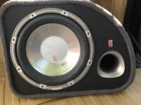 "FLI Audio Trap 12"" inch Active Amplified Subwoofer Sub Bass Box Enclosure"