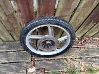125 3a lifan front wheel