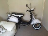LAMBRETTA look like moped