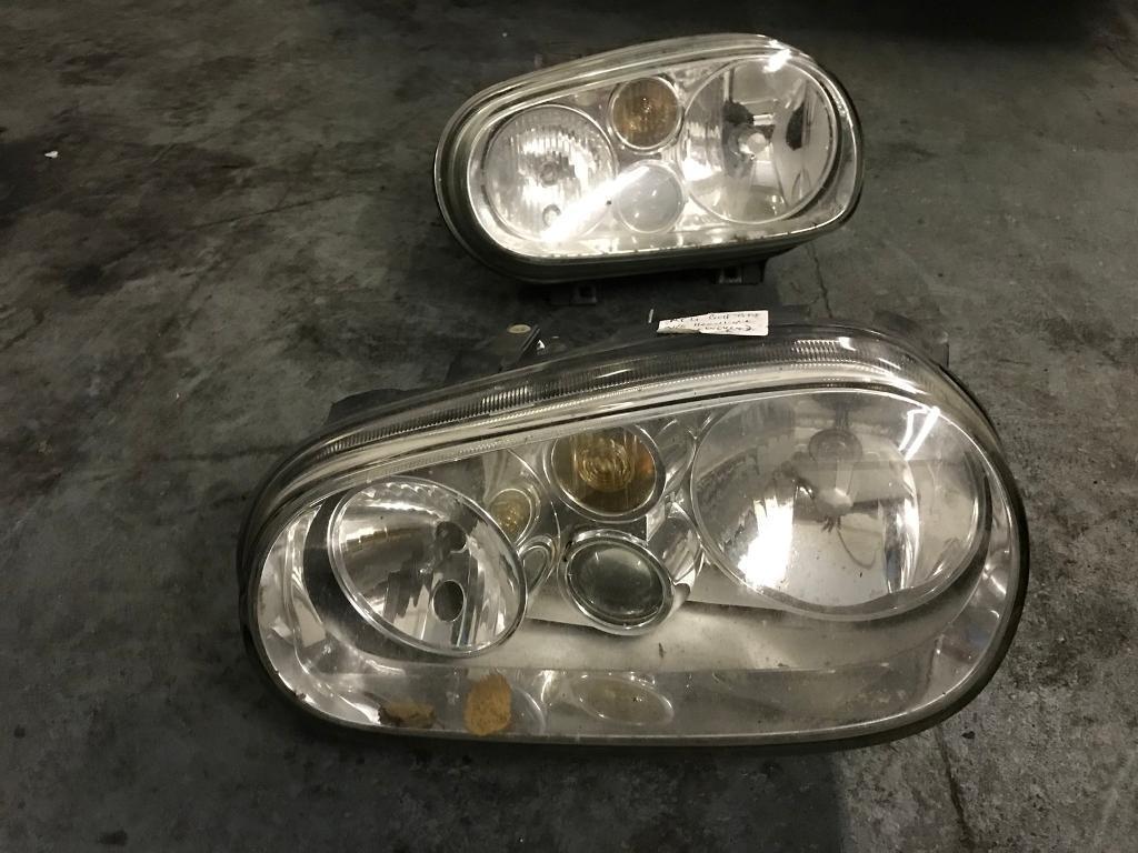 Mk4 Golf gti headlights. N/s x2