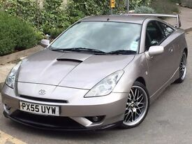 Toyota Celica 1.8 VVTL-i GT Coupe 3dr Petrol Manual VERY RARE LOOKS STUNNING
