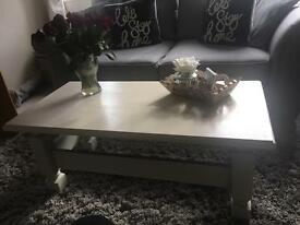 Shabby Chic coffee table solid wood