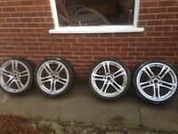 Alloys 19inch fit vw or Audi 5x112 pattern