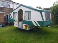 WANTED PENNINE OR CONWAY FOLDING CAMPER trailer tent