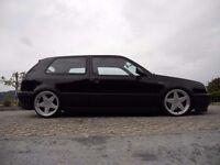 Azev deep dish alloy wheels, 17inch, 4x100, Vw Golf, BMW e30