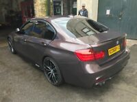 BMW 330d M SPORT M PERFORMANCE! 63-PLATE 2013! 8-SPEED AUTO WITH FLAPPY PADDLES! DRIVE AWAY £16,500!
