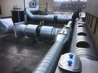 PROFESSIONAL INDUSTRIAL KITCHEN & TAKE AWAY CANOPY AND DUCTING COMMERCIAL CLEANING SERVICES UK WIDE