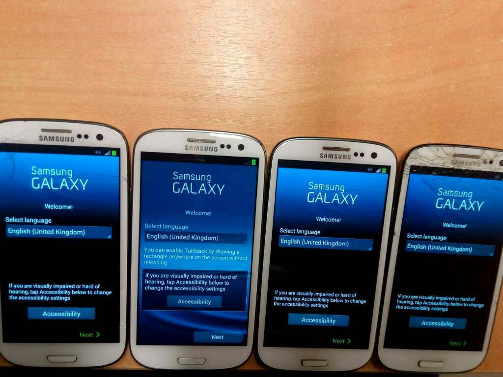 ***Galaxy S3 4 phone bundle! Bargain!!!***