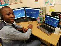 LEARN HOW TO TRADE STOCKS, BITCOINS AND FOREIGN EXCHANGE WITH A REAL TRADER.