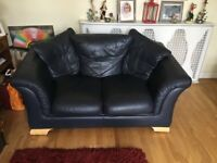 Leather Sofa (Must collect in person)