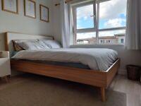 Scandi-style EU Double Sized Bed Frame