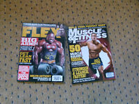 6 MUSCLE MAGAZINES IN VERY GOOD CONDITION