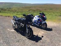 Yamaha fazer 600 swap for enduro or bigger bike