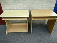 Offered two computer desks for free. self collection from Headington