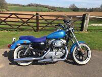 Immaculate Harley Davidson xl 883 Superlow