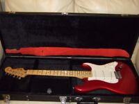 Fender Standard Strat Candy Apple Red with Maple Fretboard