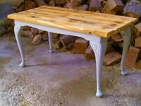 Large Shabby Chic Rustic Coffee Table