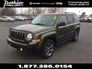 2015 Jeep Patriot | HIGH ALTITUDE | 4X4 | LEATHER | SUNROOF | HE