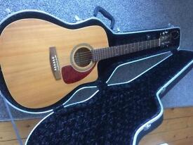 Norman B20 CW electro acoustic guitar.