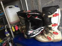 Mx boots motorbike gear