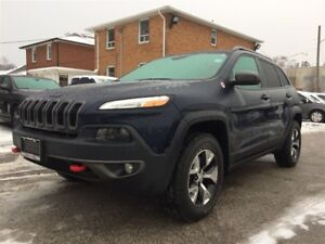 2016 Jeep Cherokee Trailhawk**NAV**TOW GRP**HTD SEATS/WHEEL**