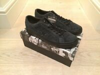 Converse x Stussy One Star '74 Black - UK 9.5