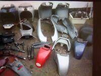 Piaggio b125 beverly parts spares