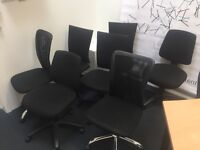 Office Chairs - £9 each, must collect - all £ is going to charity