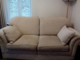 Cream/beige sofa good condition from John lewis
