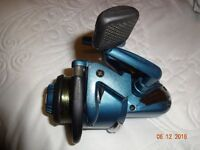 mitchell 330 pro feeder reel with 4 spare spools