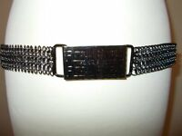 Fiorelli Designer Metal Belt - Made in Italy - New