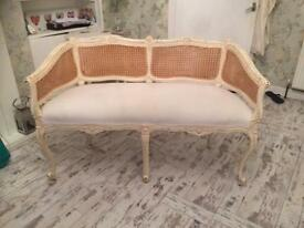 French/Louis/shabby chic 2 seater