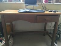 Small desk for sale available for imme diate collection.