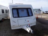 2008 4 Berth Elddis Odyssey 550 Caravan Single Axel