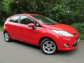 Ford Fiesta 1.25 Zetec 5dr [82] (red) 2012