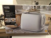 2 slice toaster brand new